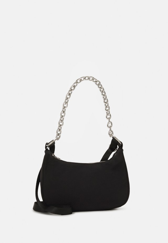 CHAIN HAND BAG - Handbag - black