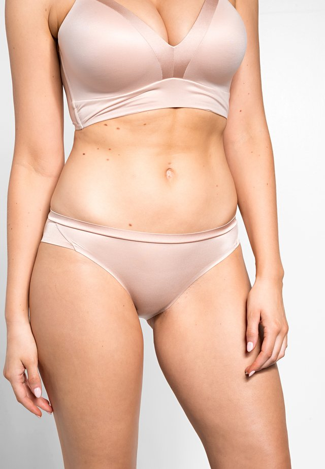 BODY MAKE UP SOFT TOUCH TAI - Kalhotky - neutral beige