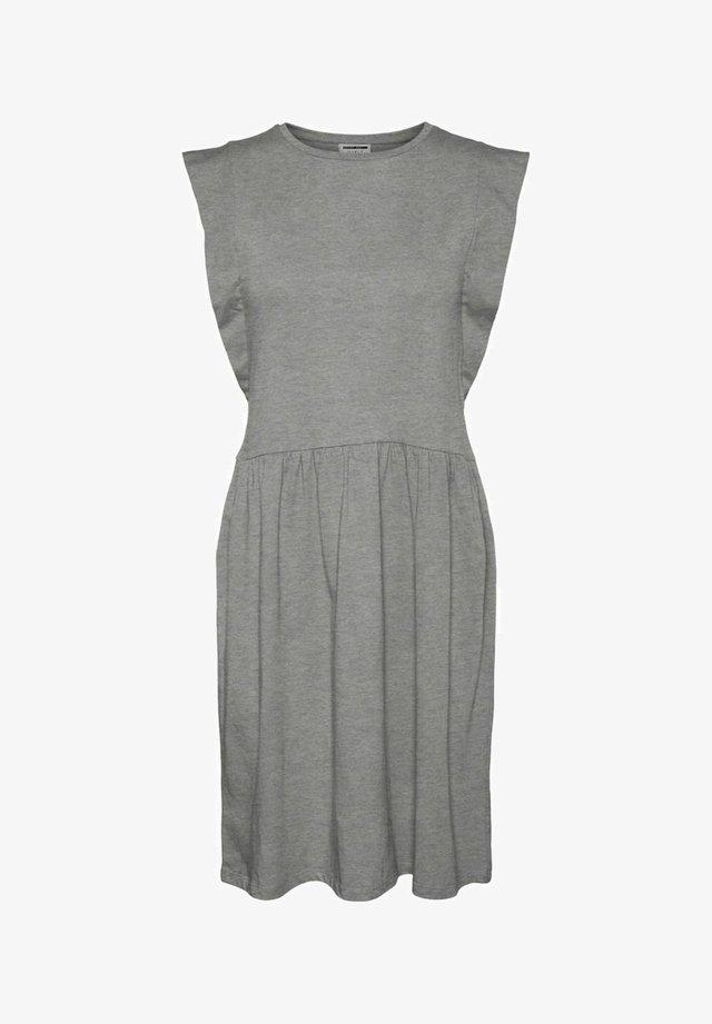 Sukienka letnia - light grey melange