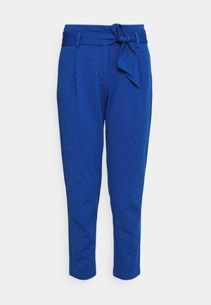 ONLCAROLINA BELT PANTS - Trousers - mazarine blue