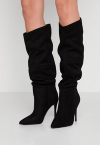 Steve Madden - DAKOTA - High heeled boots - black - 0