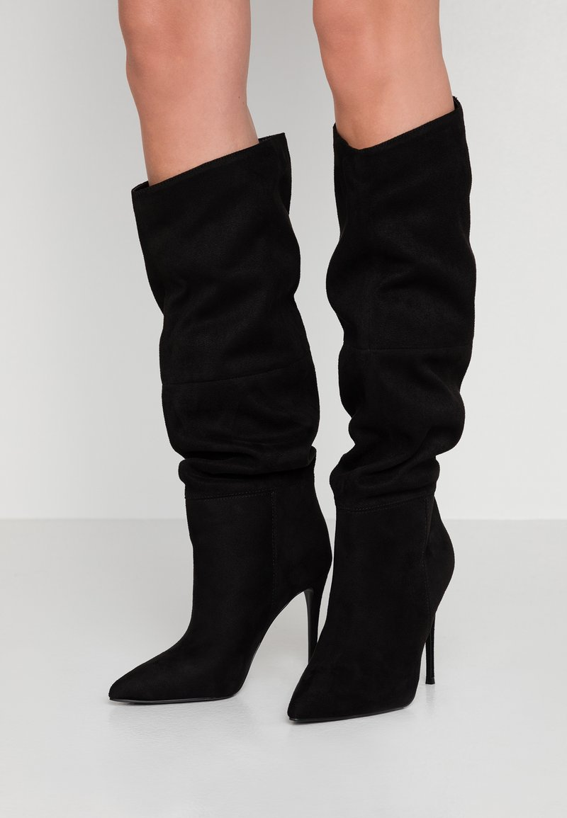 Steve Madden - DAKOTA - High heeled boots - black