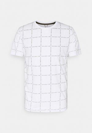 JCOBENNI TEE  - T-shirt print - white