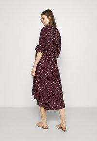 Closet - CLOSET GATHERED  - Day dress - brown - 2