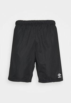 ACTIVE STYLE TAPED TRICOT SHORT - Pantaloncini sportivi - black/white