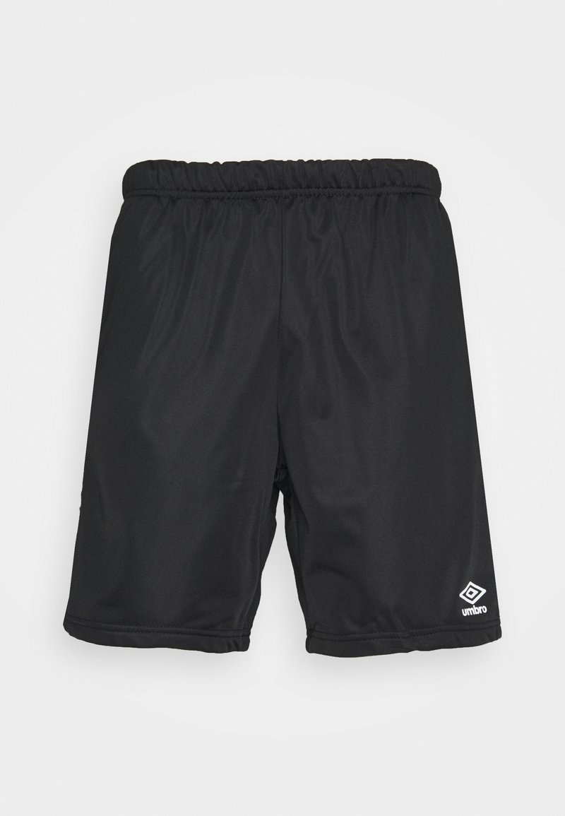 Umbro - ACTIVE STYLE TAPED TRICOT SHORT - Sports shorts - black/white