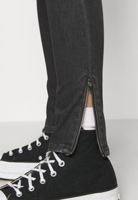 Tommy Jeans - NORA SKINNY ZIP - Jeans Skinny Fit - iris black - 4