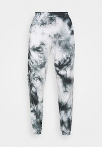 New Look - TIE DYE JOGGER - Tracksuit bottoms - dark grey - 5