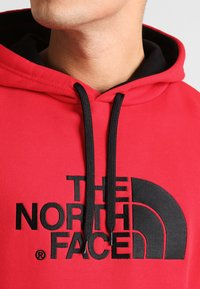 The North Face - DREW PEAK - Mikina s kapucí - red - 3