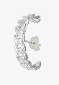 Vibe Harsløf - HOOP CHAIN LARGE - Náušnice - silver-coloured - 3