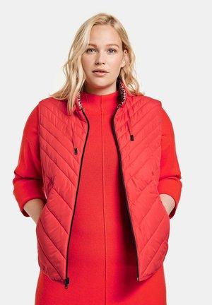 Waistcoat - power red
