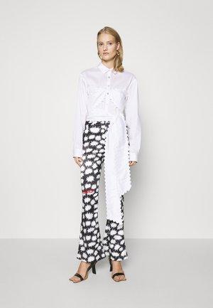 BRALETTE SHIRT - Overhemdblouse - white