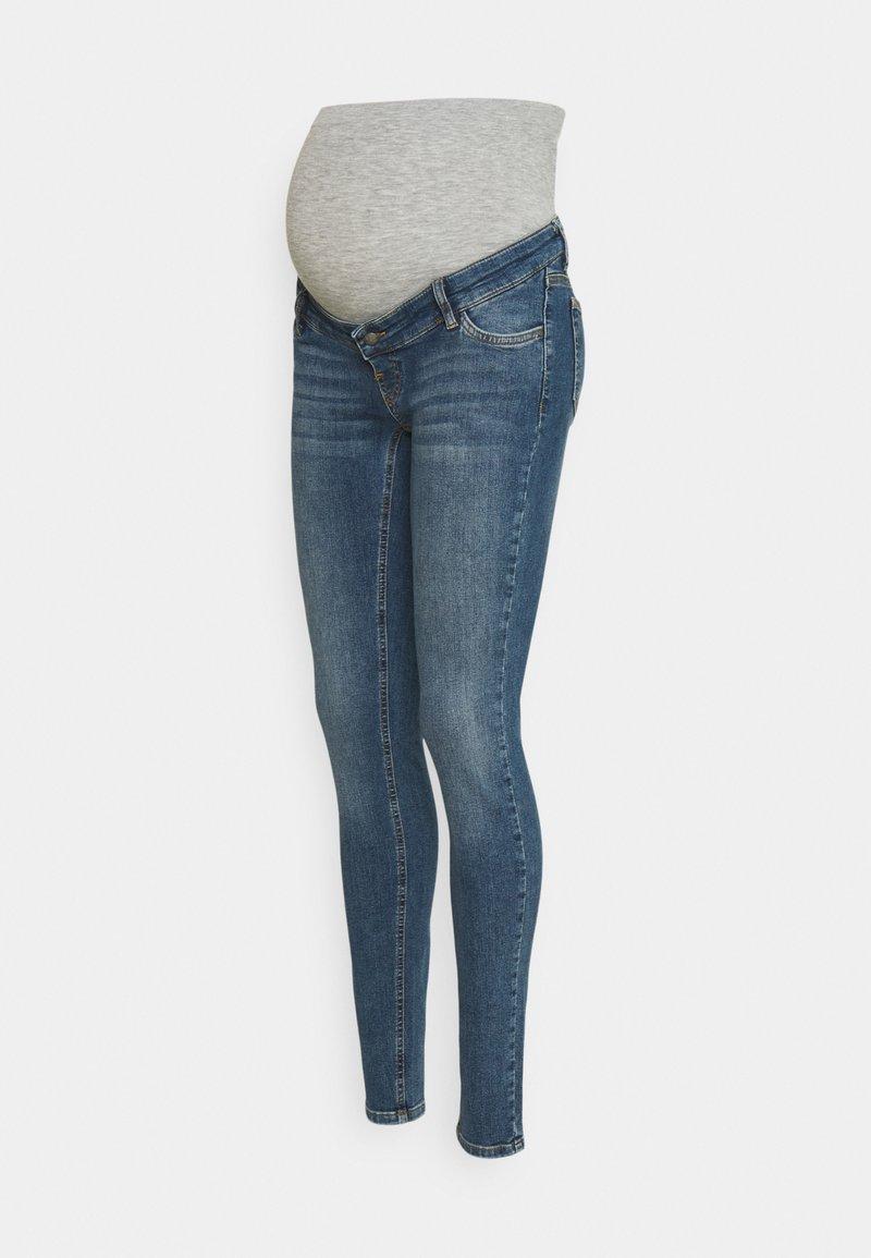 MAMALICIOUS - MLKANSAS  - Jeans Slim Fit - medium blue denim