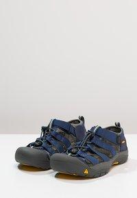 Keen - NEWPORT H2 - Chodecké sandály - blue depth/gargoyle - 2
