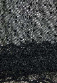 Hunkemöller - TEDDY DOT NATHALIE - Nightie - black - 2