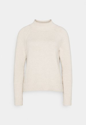 DOORBUSTER FUNNEL NECK SOLIDS - Jumper - oatmeal