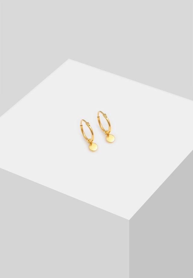 PLÄTTCHEN COIN GEO - Korvakorut - gold