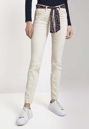 ALEXA SLIM - Slim fit jeans - warm sand beige
