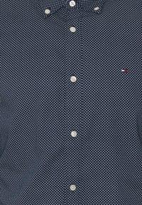 Tommy Hilfiger - SLIM MICRO PRINT - Shirt - blue - 2