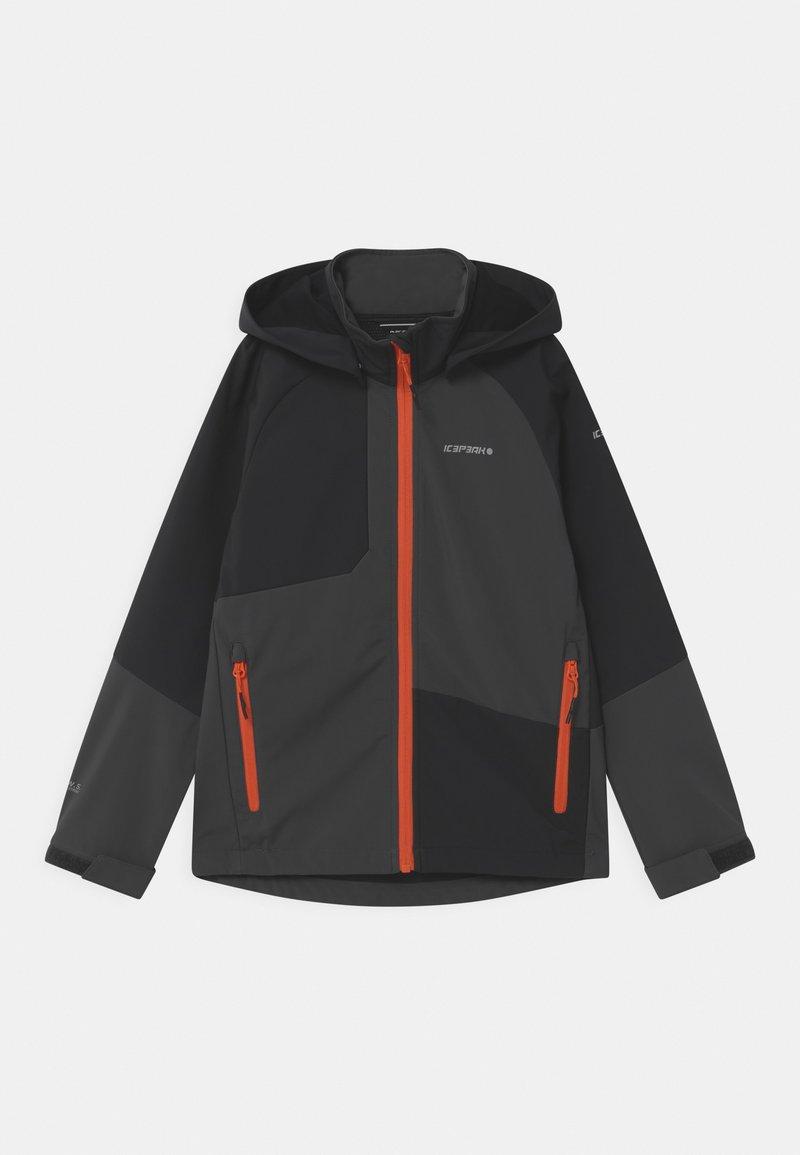 Icepeak - KENTON UNISEX - Soft shell jacket - granite