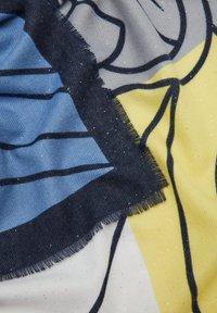 s.Oliver - LOONEY TUNES MIT GLITZER - Scarf - dark blue placed print - 2