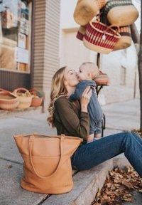 Little Unicorn - CITYWALK  - Baby changing bag - cognac - 1