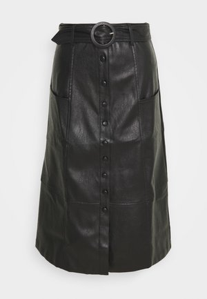 ILSA - A-line skirt - black