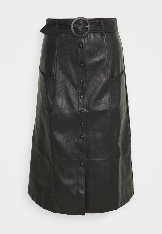 ILSA - A-line skirt - black
