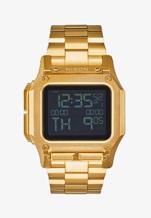 REGULUS - Digital watch - all gold-coloured