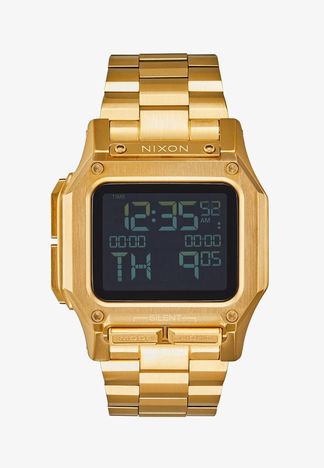 REGULUS - Digital watch - all gold-coloured