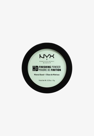 HIGH DEFINITION FINISHING POWDER - Setting spray & powder - 3 mint green