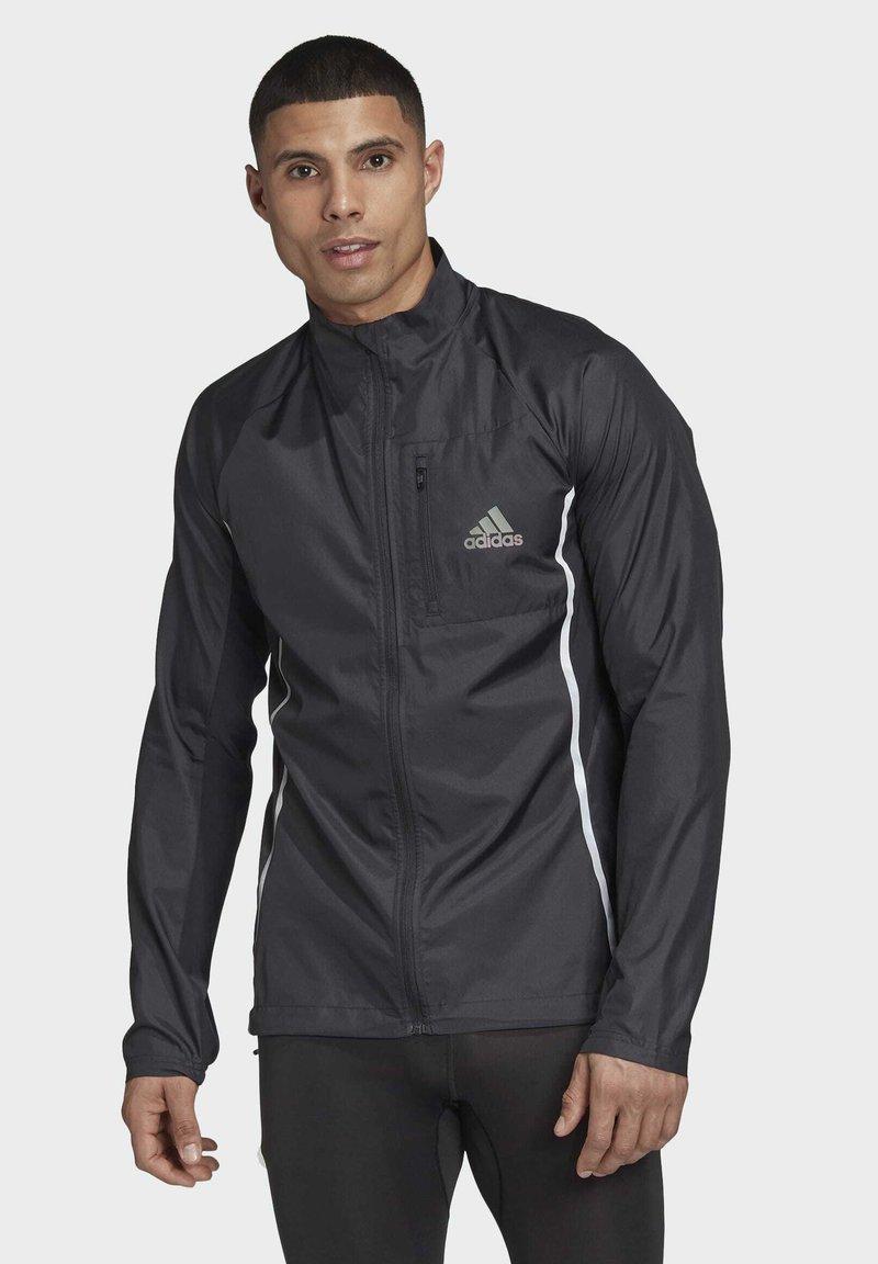adidas Performance - ADI RUNNER SUPERNOVA RUNNING - Chaqueta de entrenamiento - black