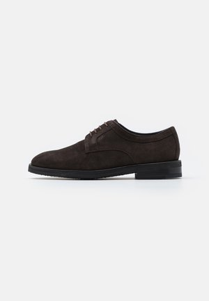 KLEITOS LACE UP - Smart lace-ups - darkbrown