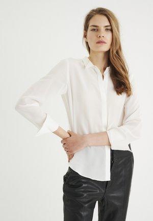 LUCIEIW CLASSIC PREMIUM - Button-down blouse - white smoke