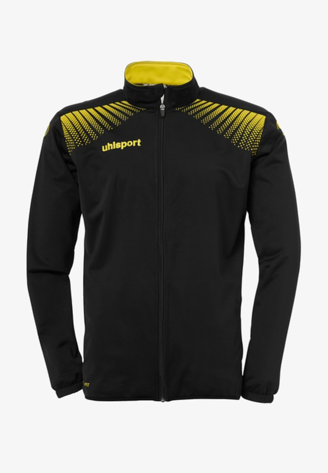 Training jacket - black/lime