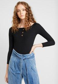 Ivyrevel - OFF SHOULDER - Long sleeved top - black - 0