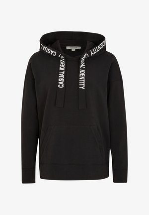MIT RÜCKENPRINT - Hoodie - black