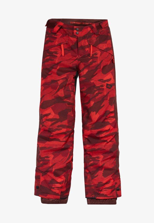 Pantalon de ski - red aop