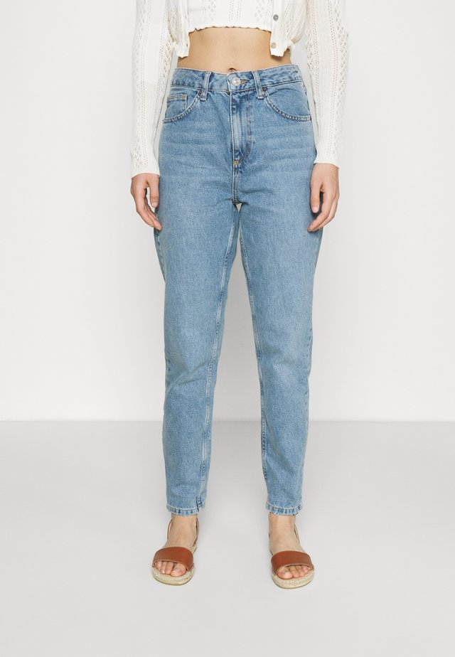 VINTAGE MOM - Džíny Relaxed Fit - blue denim