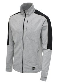Hummel - HMLTROPPER - Zip-up hoodie - grey melange - 2