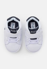 Polo Ralph Lauren - THERON LAYETTE UNISEX - First shoes - white tumbled/navy - 3