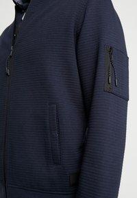 INDICODE JEANS - LANYARD - Zip-up hoodie - navy - 5