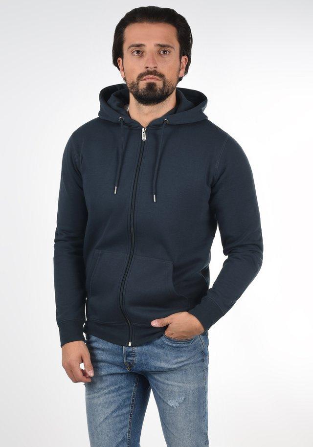 BERTIZIP - Sweater met rits - blue