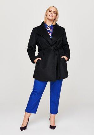 EDLER - Short coat - schwarz