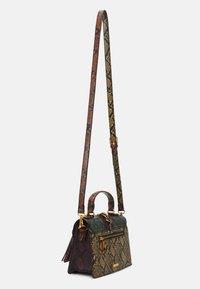 ALDO - MARTIS - Handbag - military olive/mustard rust/chocolat/gold-coloured - 1
