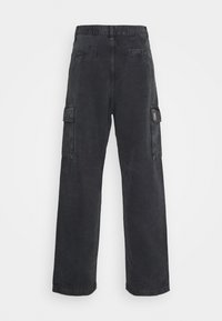 Carhartt WIP - KEYTO PANT DEARBORN - Cargo trousers - black - 1