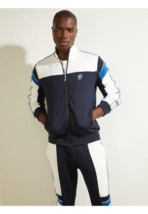 Sweater met rits - dunkelblau