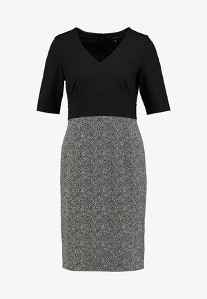 KURZ - Shift dress - black