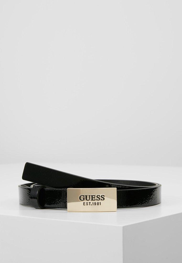Guess - HIGHLIGHT ADJUSTABLE BELT - Belte - black