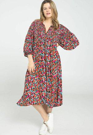 Shirt dress - indigo